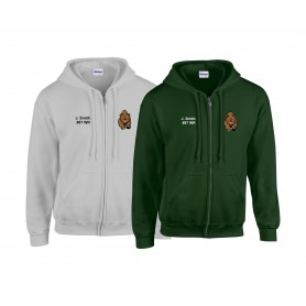 Nottingham Bears - Custom Embroidered Zip Hoodie