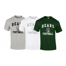 Nottingham Bears - Bears Football Logo T-Shirt