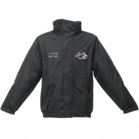 Bucks Wolves - Embroidered Heavyweight Dover Rain Jacket