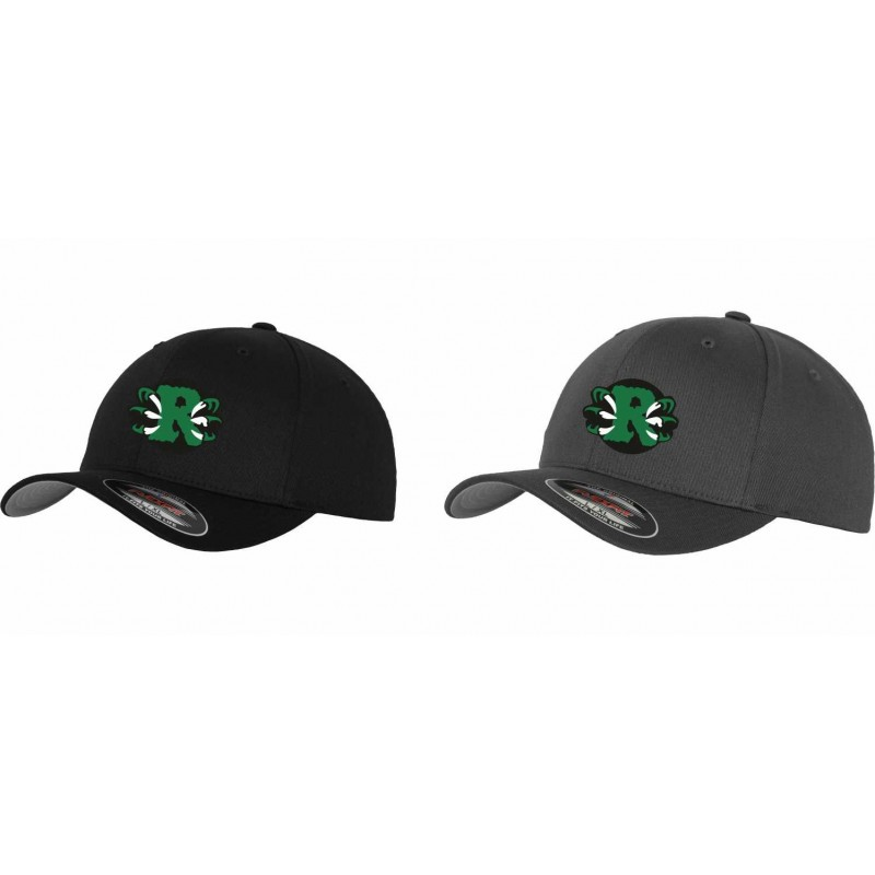 Jurassic Coast Raptors - Embroidered Flex Fit Cap