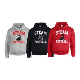 Darlington Steam - Football Logo Hoodie