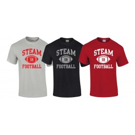 Darlington Steam - Custom Ball Logo T-Shirt 1