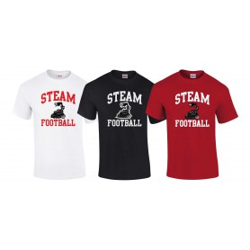 Darlington Steam - Football Logo T-Shirt