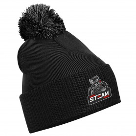 Darlington Steam - Embroidered Bobble Hat