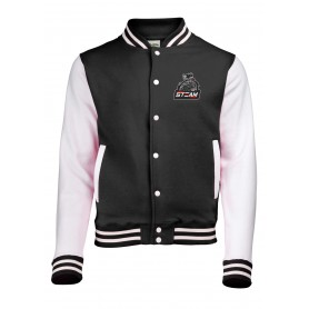 Darlington Steam - Embroidered Varsity Jacket
