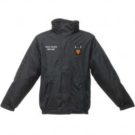 Edge Hill Vikings - Embroidered Heavyweight Dover Rain Jacket