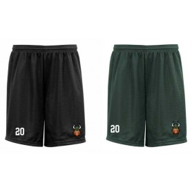 Edge Hill Vikings - Embroidered Mesh Shorts