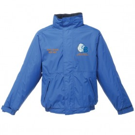 Derby Braves - Embroidered Heavyweight Dover Rain Jacket