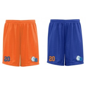 Derby Braves - Embroidered Mesh Shorts