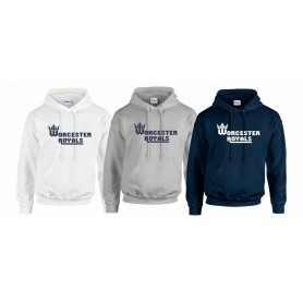 Worcester Royals - Club Text Logo Hoodie
