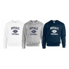 Worcester Royals - Custom Ball Logo Sweatshirt 1