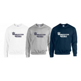 Worcester Royals - Club Text Logo Sweatshirt