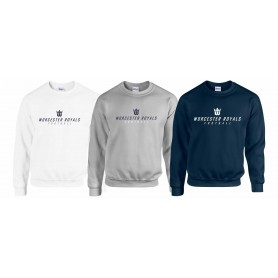 Worcester Royals - Text Logo Sweatshirt