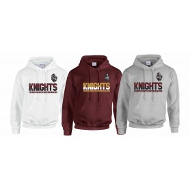 Northants Knights - Athletic Split Text Hoodie