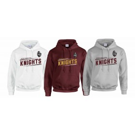 Northants Knights - Slanted Text Hoodie