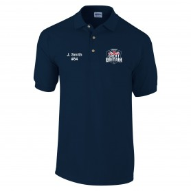 BiSHA - GB Embroidered Polo Shirt