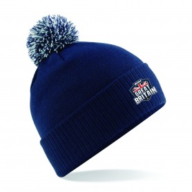 BiSHA - GB Embroidered Bobble Hat