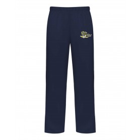 UEA Pirates - Embroidered Badger Open Bottom Joggers