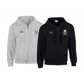 Knottingley Raiders - Embroidered Zip Hoodie