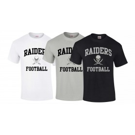Knottingley Raiders - Football Logo T Shirt