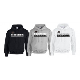 South London Renegades - Split Text Logo Hoodie