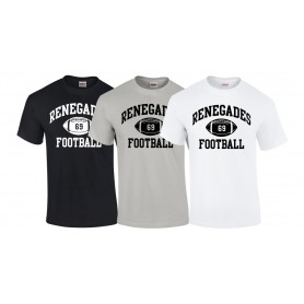 South London Renegades - Custom Ball Logo T-Shirt 1