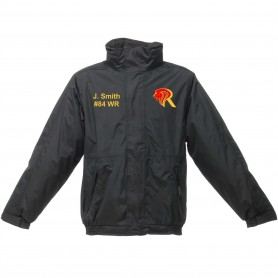 Kings College - Embroidered Heavyweight Dover Rain Jacket