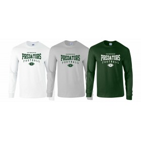Edinburgh Predators - Custom Ball Logo Longsleeve T-Shirt