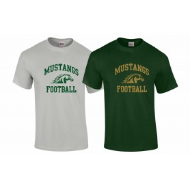 Doncaster Mustangs - Football Logo T-Shirt