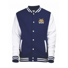 Leeds Bobcats - Embroidered Varsity Jacket