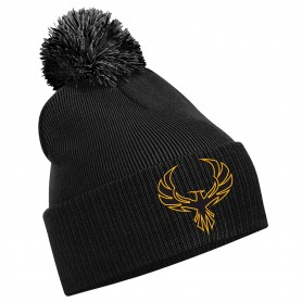 Kent Phoenix - Embroidered Bobble Hat