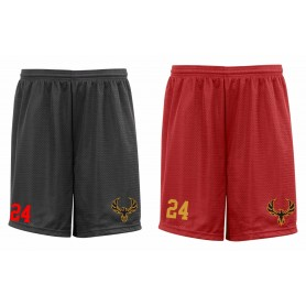 Kent Phoenix - Embroidered Mesh Shorts