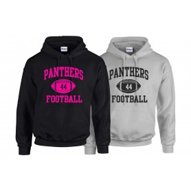 Oxford Brookes Panthers - Custom Ball Logo Hoodie