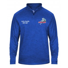 Sussex Thunder - Embroidered Tonal Blend Sport 1/4 Zip