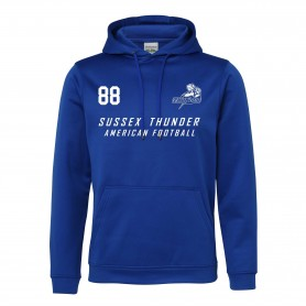 Sussex Thunder - Printed Performance Hoodie