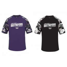 Portsmouth Destroyers - Printed Camo Sport Tee