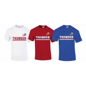 Sussex Thunder - Athletic Split Text Logo T-Shirt