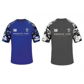 Manchester Titans - Printed Camo Performance Tee