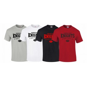 Edinburgh Napier Knights - Custom Ball Logo T-Shirt 2