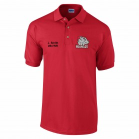 City Wolfpack - Custom Embroidered Polo Shirt