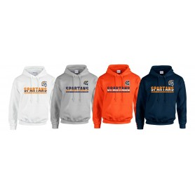 Sunderland Spartans - Athletic Split Text Logo Hoodie