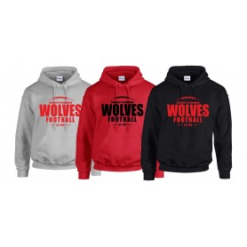 Warwick Wolves - Laces Logo Hoodie