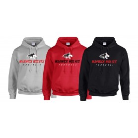 Warwick Wolves - Text Logo Hoodie