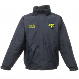 QMBL Vipers - Embroidered Heavyweight Dover Rain Jacket