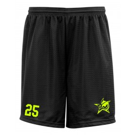 Oldham Owls - Custom Embroidered Mesh Shorts