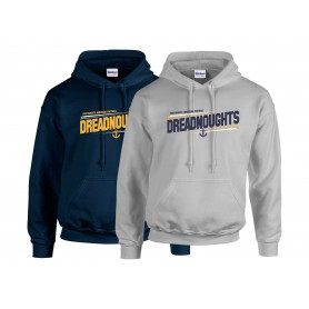 Portsmouth Dreadnoughts - Slanted Text Hoodie