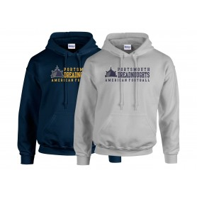 Portsmouth Dreadnoughts - Text 2 Logo Hoodie