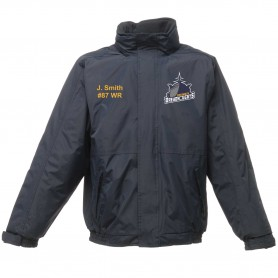 Portsmouth Dreadnoughts - Ship Logo Embroidered Heavyweight Dover Rain Jacket