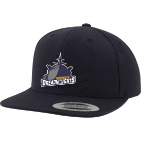 Portsmouth Dreadnoughts - Embroidered Ship Logo Snapback