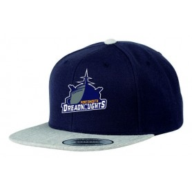 Portsmouth Dreadnoughts - Embroidered Ship Logo 2 Tone Snapback